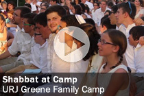Shabbat at Camp