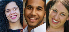 "URJ Youth Alumni April Baskin, Pamela Schuller and Evan Traylor Named To Jewish Week's ""36 Under 36"" List"