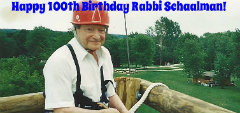 Olin-Sang-Ruby Union Institute (OSRUI) founder and oldest living Reform Rabbi turns 100