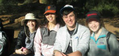 NFTY-EIE High School in Israel Students Travel Through 500 Years of Jewish History in One Week