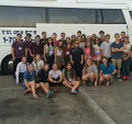 33 Teens Arrive in Israel to Attend NFTY-EIE High School in Israel This Semester