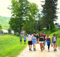 Campers' Walk-A-Thon Raises Awareness For Three Jewish Causes