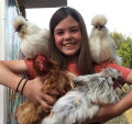 Mish-Flock-cha Mishpacha - Raising a Family of Chickens at Camp