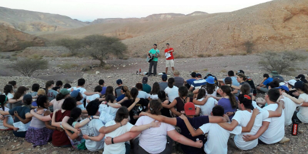 Hiking in the Negev Sparks Teens' Love for Israel