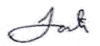 Jonah Pesner - First Name Signature